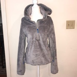 Like New Gilly Hicks 1/4 Zip Pullover Hoodie - SzL